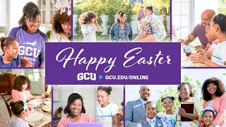 Happy Easter from GCU