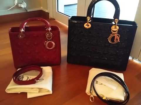 10b2221359 Handbag Review// What Fits Inside My Christian Dior Medium Lady Dior ...