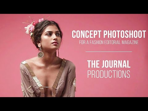Concept Photoshoot for a Fashion Editorial Magazine | Fashion Photography India