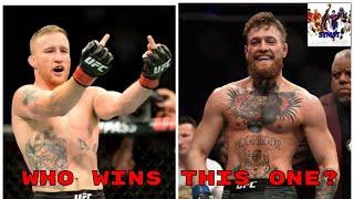 Justin Gathje vs Conor McGregor could happen. 🥊🥊💯