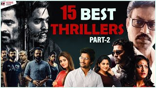 Top 15 Thriller movies of  ndia Part 2 Must Watch Thriller Movies Kadakk Cinema Kadakk Chai