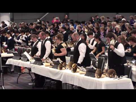 Final Massed Performance of the 17th Int'l Handbell Symposium