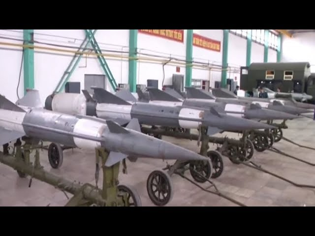 Cận cảnh dây chuyền sửa tên lửa phòng không đặc biệt của Việt Nam