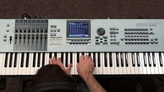 Yamaha MOXF, Motif XF, XS, ES - Amazing Piano from K-Sounds