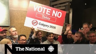 Calgarians vote No on 2026 Winter Olympics bid