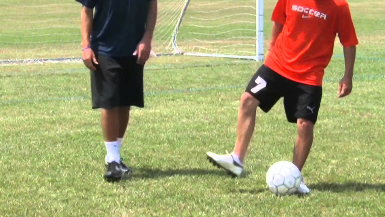 Fun Shooting Drill Shooting Tips: Shooting Techniques In Soccer For Beginners : Soccer Tips