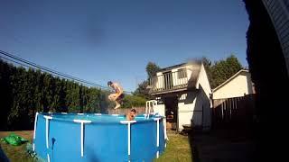 Gopro Pool Jumping