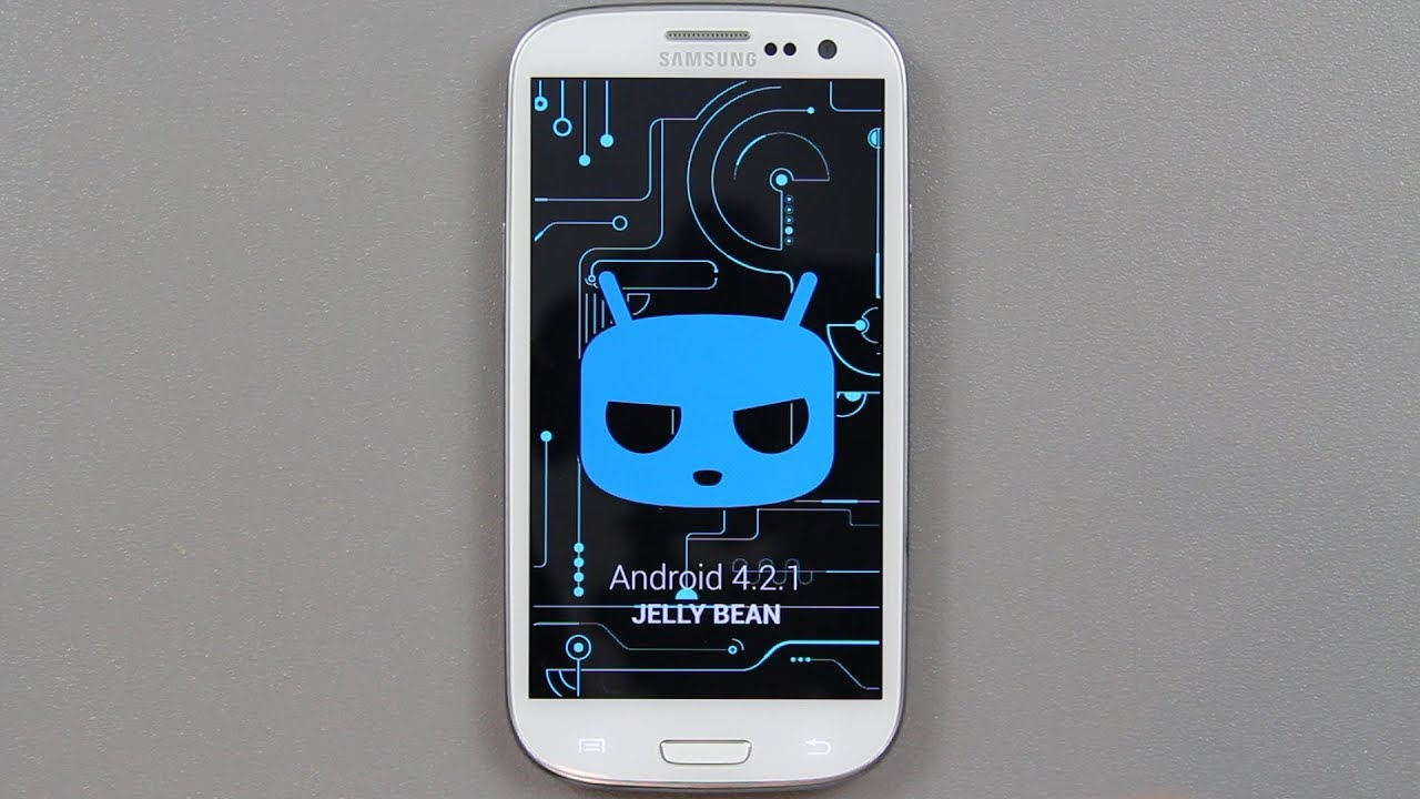 how to install stable cyanogenmod 10 1 android 4 2 2 jelly bean on the samsung galaxy s3 iii youtube