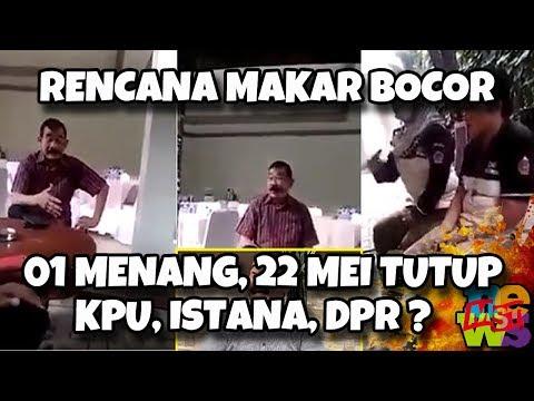 Video R3nc4n4 M4k4r 02 Bocor: 22 Mei, Kalau Jokowi Menang, Tutup KPU, Istana Dan DPR? | Wonderdir Pilpres