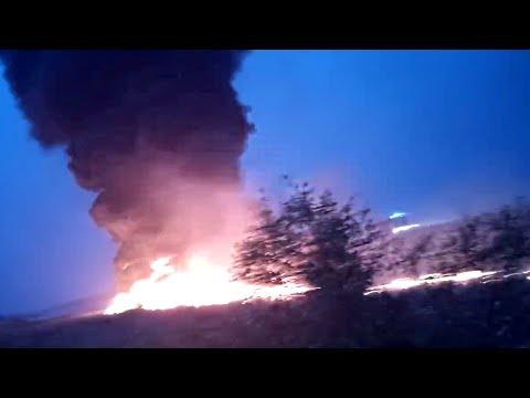 Al menos 18 heridos al incendiarse un Boeing 737 en la ciudad rusa de Sochi