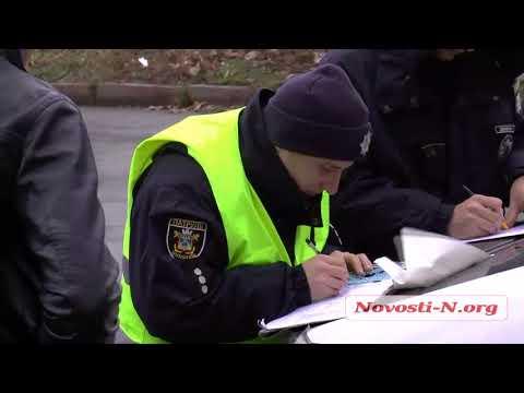 Видео 'Новости-N': В Николаеве пьяный таксист устроил ДТП