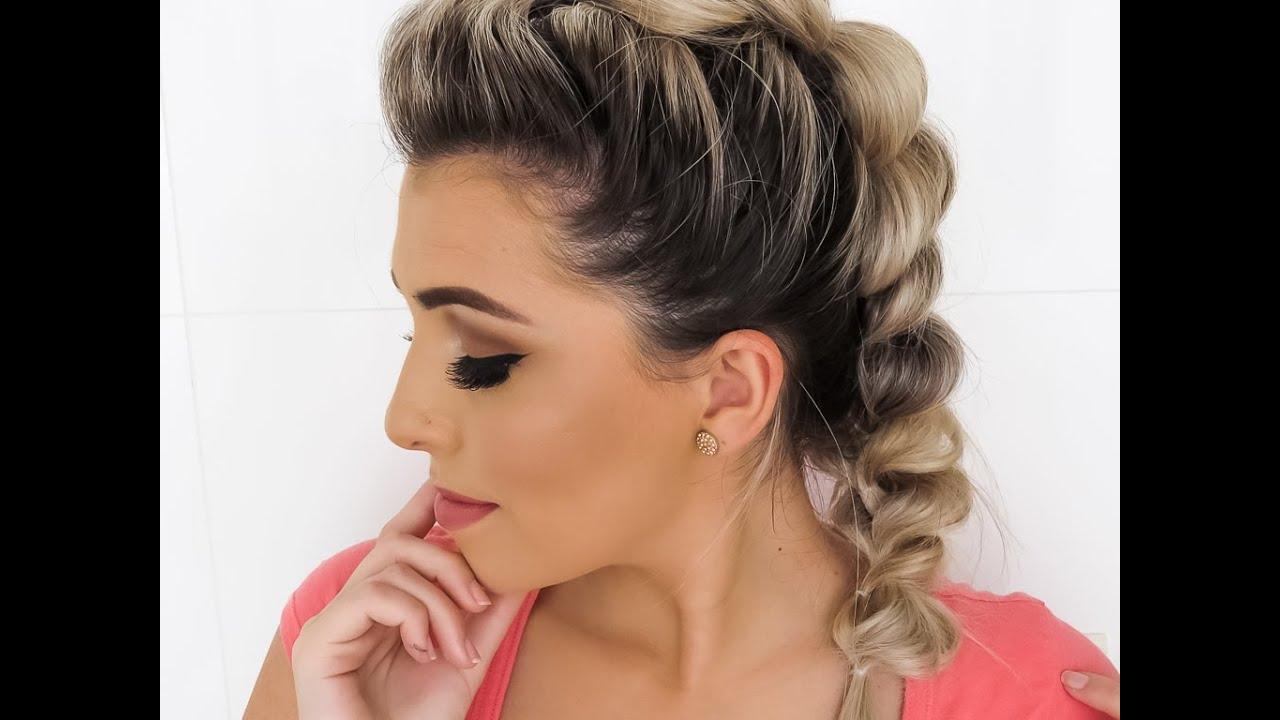 Resultado de imagem para Como fazer um Penteado Moicano feminino e masculino