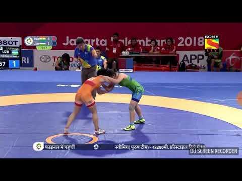 Asian Game 2018 Wrestling