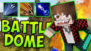 OVERPOWERED BOWS! | Minecraft Battle-Dome Mini-Game Red vs Blue WAR!