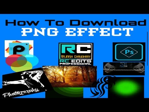 How To Download Png Effects  Background  Logo