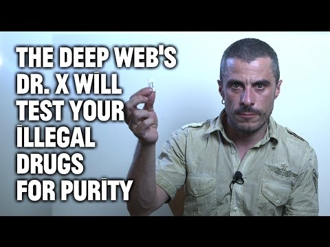The Deep Web's Dr. X Will Test Your Illegal Drugs for Purity