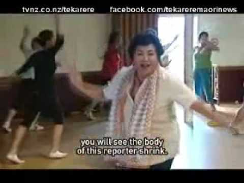 New Zealand Maori doing Salsa Dance Exercise workout Zumba Te Karere Maori News