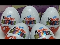 4 Kinder niespodzianka Go Move kinder surprise sprinty Unboxing