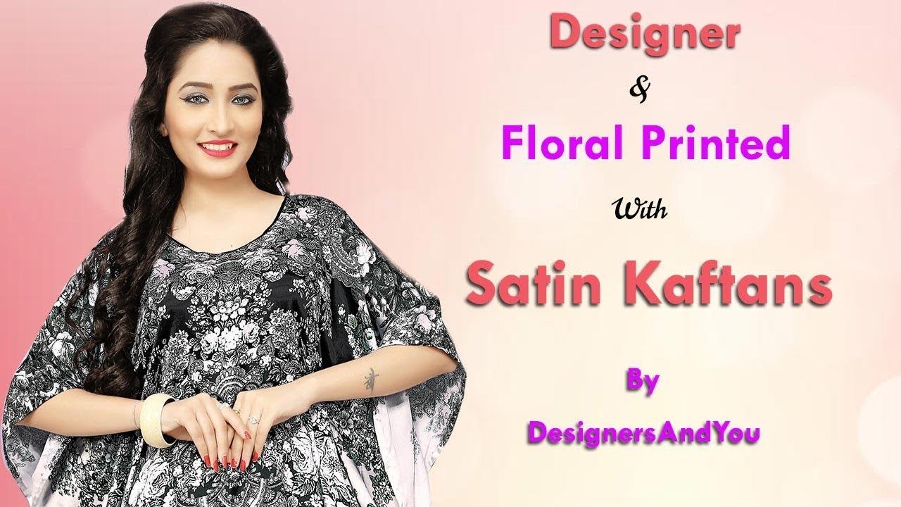 6245a97bc8 Ladies Kaftans: Long Plus Size Indian Kaftan Caftan Maxi Style Top Dresses  Designs New Patterns 💖