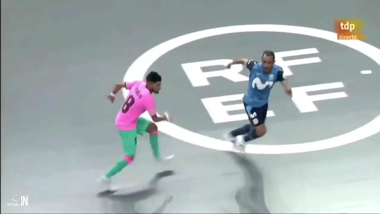 """Download Inter Movistar FS 3(2) vs (3)3 FC Barcelona -Quarter Final Playoff LNFS 2020/2021 Match""""2 Highlights"""