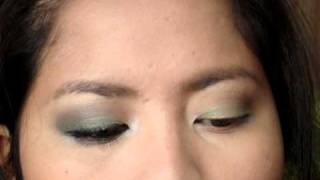 Moss Green Smokey 120 Eyeshadow Palette Thumbnail