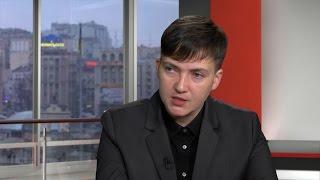 Їх ніхто не легалізує – Савченко про бойовиків