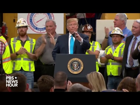 WATCH LIVE: Trump speaks at operating engineers training center in Texas