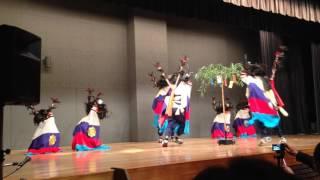 仙台宇和島400年祭_川前の鹿踊