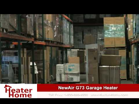 heating your garage with the newair g73 electric shop heater - Electric Shop Heater