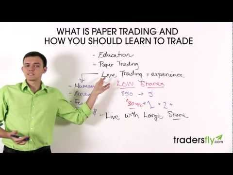 What is Stock Paper Trading and How Should You Learn To Trade Stocks