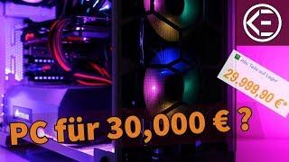 GAMING PC FÜR 30.000 EURO ? Warum ist dieses System so teuer? #KreativeFragen 15 (+ Gewinnspiel)