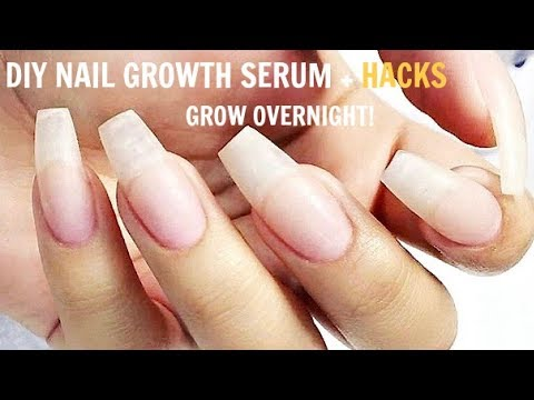 life hacks to make your nails grow faster