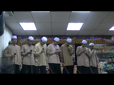 badiuzzaman - majlis penutupan program ihya' ramadhan 1433 (part 1)