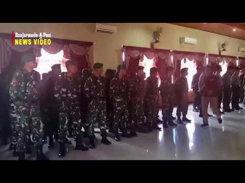 Polres Tabalong Dan Kodim 1008 Tanjung Tandatangani MoU Pengamanan Pilkada