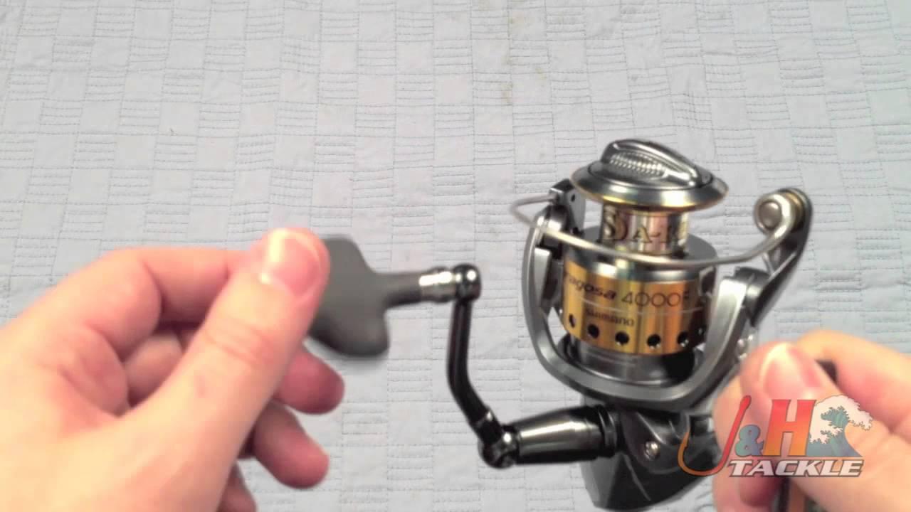 Shimano Saragosa SRG4000F Spinning Reel - J&H Tackle