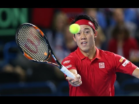 Highlights: Dan Evans (GBR) v Kei Nishikori (JPN)
