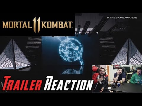 Mortal Kombat  Trailer Reveal - Angry Reaction!