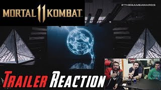 Mortal Kombat 11 Trailer Reveal - Angry Reaction!