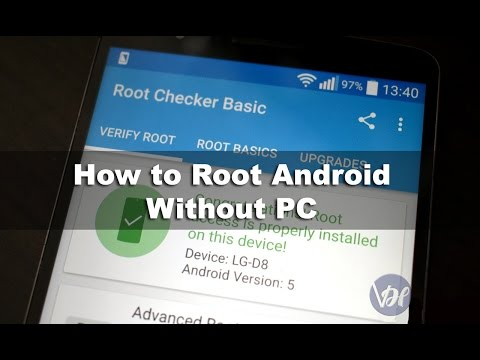 how to root android phone without computer in hindi / Urdu