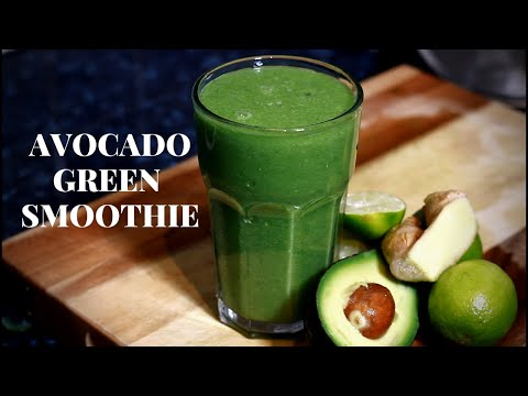 Green Smoothie Recipe For Weight Loss   Easy And Healthy Breakfast Ideas Recipe !!