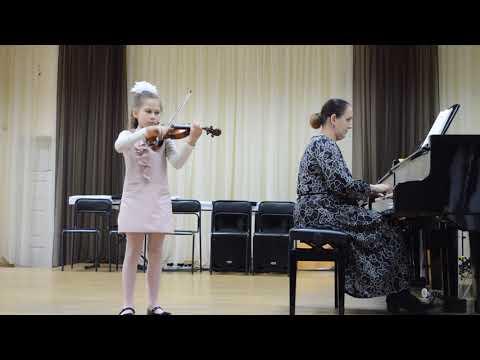 Кичикова Вероника г. Кропоткин 8 лет, Н.Бакланова  Мазурка