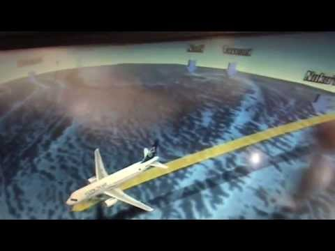 Fly from Niue to Auckland NZ: 21/2/14 [clip 1]