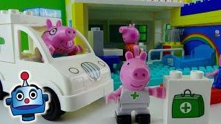 Peppa Pig Hospital de Peppa Hospital Construction Set - Juguetes de Peppa Pig thumbnail