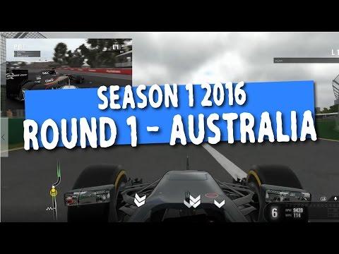 F1 2016 Round 1 Australia - Online Championshiop