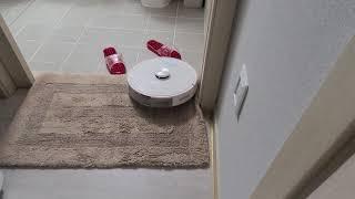 로봇청소기 화장실