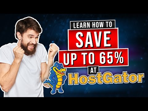 Hostgator Coupon Code: the BEST discount Code in 2021