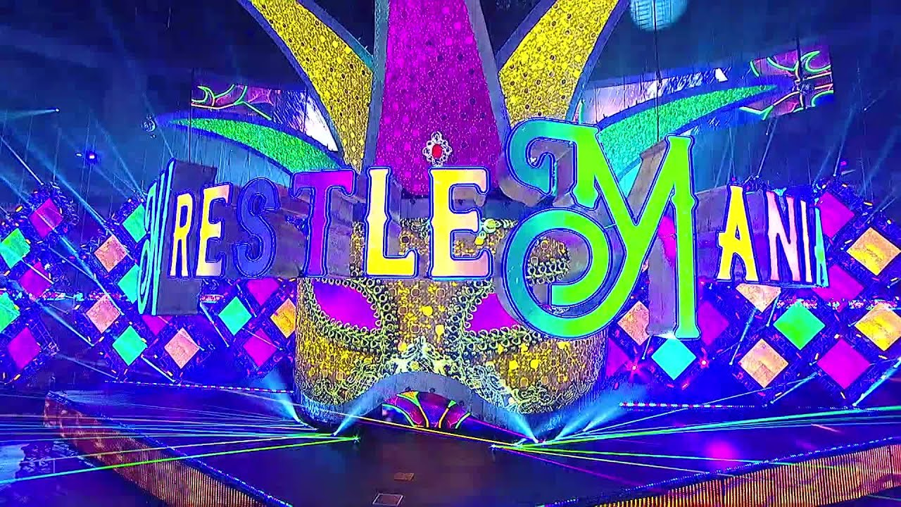 Time-lapse video of WrestleMania 34's set construction: WWE Exclusive, April 20, 2018