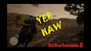 RED DEAD REDEMPTION 2 FUNNY MOMENTS: HORSE OLYMPICS!
