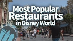 Most Popular Restaurants in Disney World -- And Good Alternatives if They're Full!
