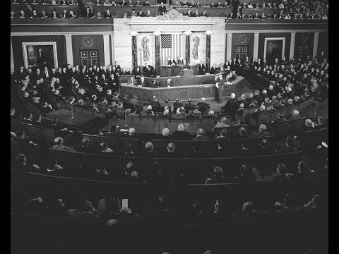 Special Message to the Congress: The American Promise [on the Voting Rights Act], 3/15/65. MP506.